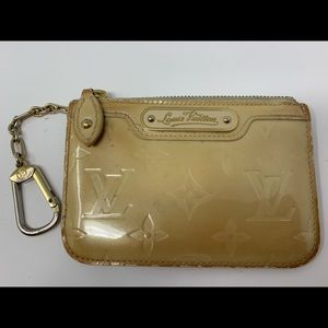 Vintage key pouch in vernis